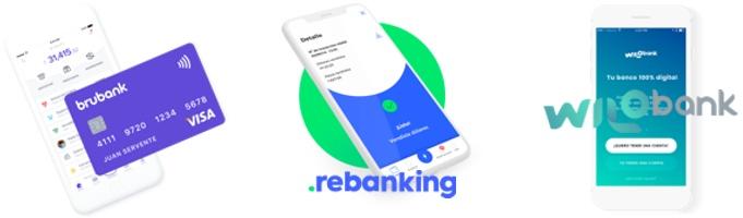 opciones de bancos digitales