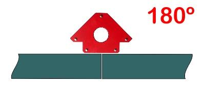 Escuadra magnética 180 grados