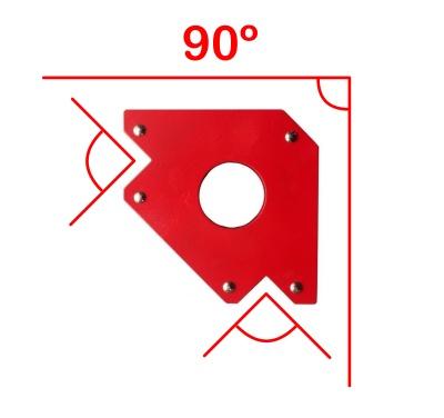 Escuadra magnética 90 grados