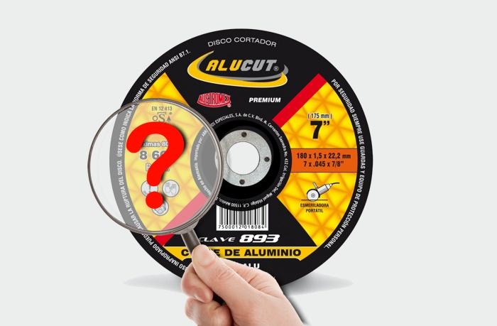 Discos Abrasivos: Nomenclatura de la Etiqueta