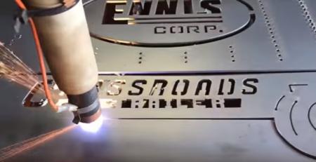 Impresionante video: CNC cortadora de plasma