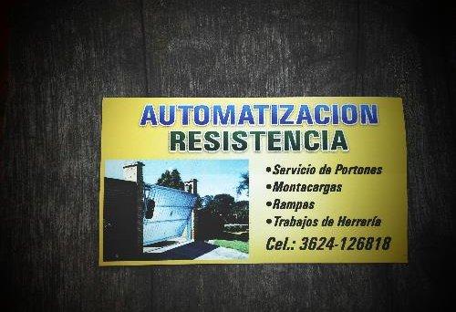 Automatización Resistencia en Chaco