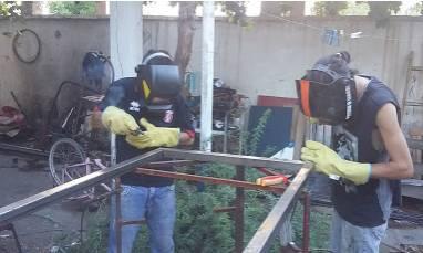Metalúrgica Pañilwe en San Juan